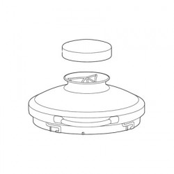 Magimix Glass lid with cap