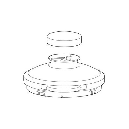 Glass Lid with Cap
